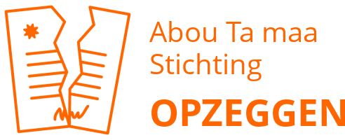 Abou Ta maa Stichting opzeggen