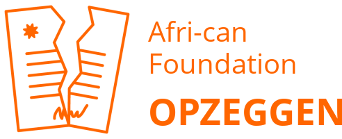 Afri-can Foundation opzeggen