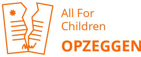 All For Children opzeggen