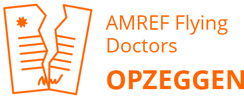 AMREF Flying Doctors opzeggen