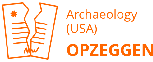 Archaeology (USA) opzeggen