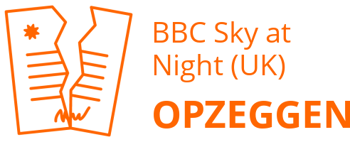 BBC Sky at Night (UK) opzeggen