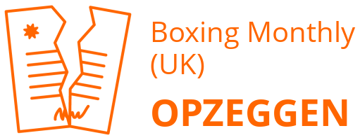 Boxing Monthly (UK) opzeggen