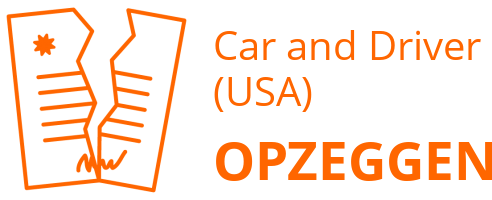 Car and Driver (USA) opzeggen