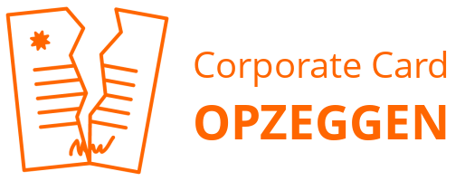 Corporate Card  opzeggen