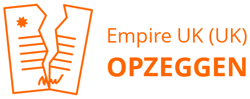 Empire UK (UK) opzeggen