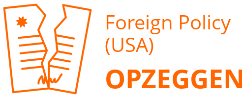 Foreign Policy (USA) opzeggen