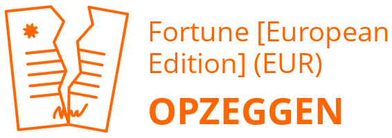 Fortune [European Edition] (EUR) opzeggen