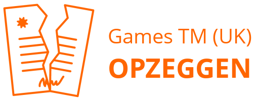 Games TM (UK) opzeggen