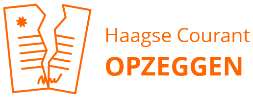 Haagse Courant opzeggen