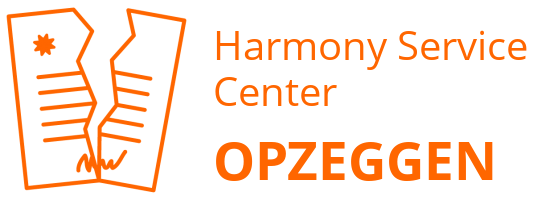 Harmony Service Center opzeggen