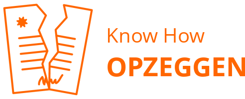 Know How opzeggen
