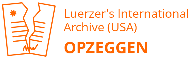 Luerzer's International Archive (USA) opzeggen