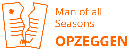 Man of all Seasons opzeggen
