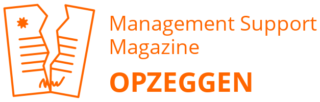 Management Support Magazine opzeggen