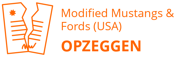 Modified Mustangs & Fords (USA) opzeggen