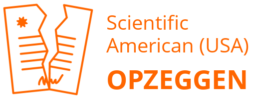 Scientific American (USA) opzeggen