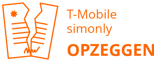 T-Mobile simonly opzeggen