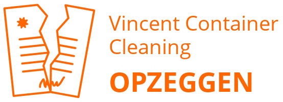 Vincent Container Cleaning opzeggen