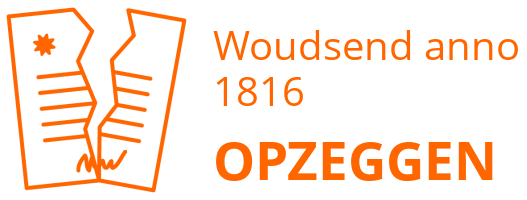 Woudsend anno 1816  opzeggen